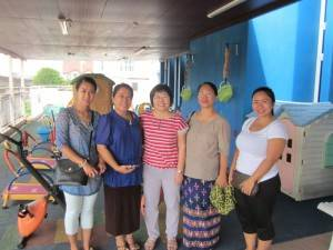 Kachin Baptist Church Kindergarten staff, Myanmar
