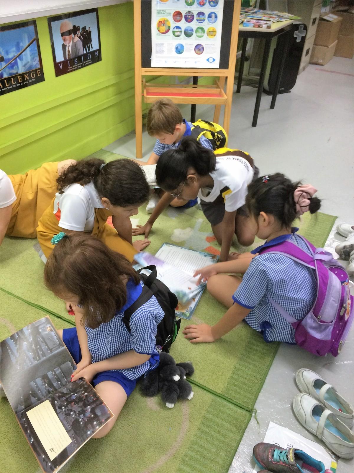 Primary School Visit to Haig Girls School for K2 children