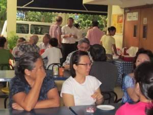 NSI Tea Fellowship with BCK parents/guardians